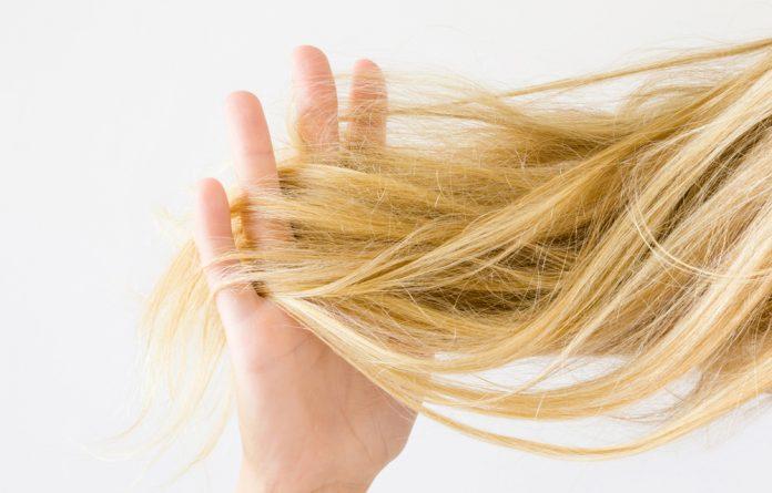 Frizz no cabelo