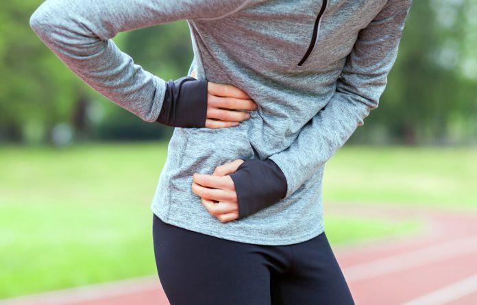 Dor na lateral da barriga