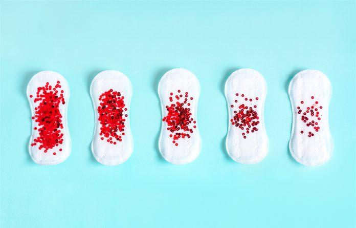 Sangue da menstruação preto