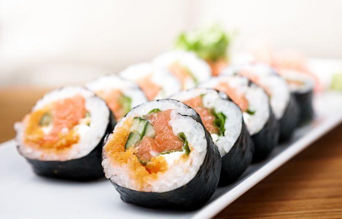 Quanto sushi posso comer por semana?