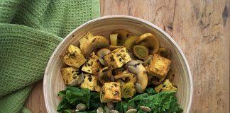 receita de bowl proteico vegano