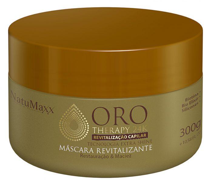 Máscara Revitalizante Oro Therapy 300gr